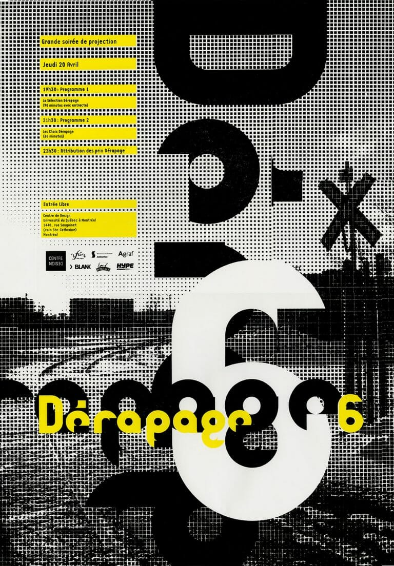Derapage archive D06 Affiche