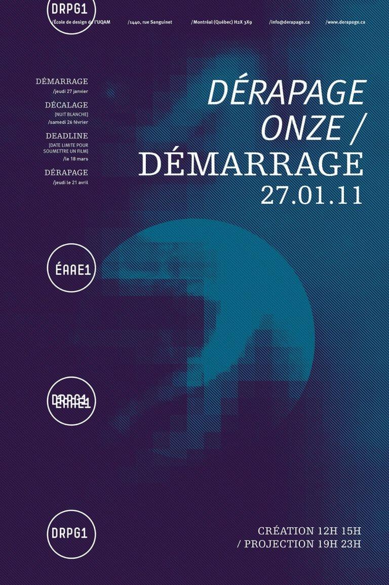 Derapage archive D11 Affiche 2