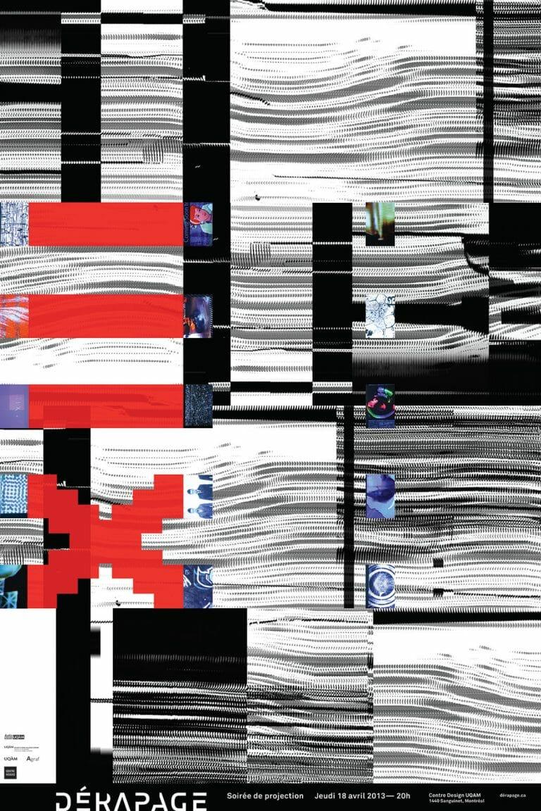 Derapage archive D13 Affiche